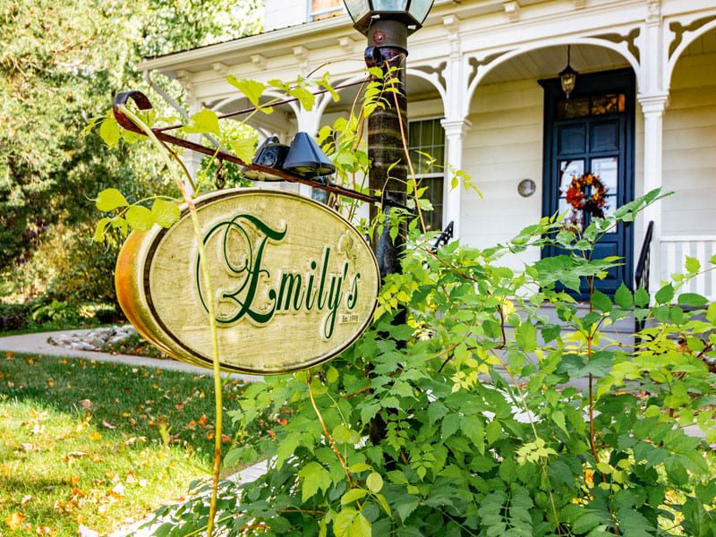 Emily's Bed and Breakfast in Lattimer, Pennsylvania in the Pocono Mountains.