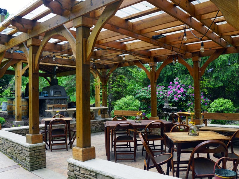 Emily's Bed and Breakfast can host your next corporate party or team building event.