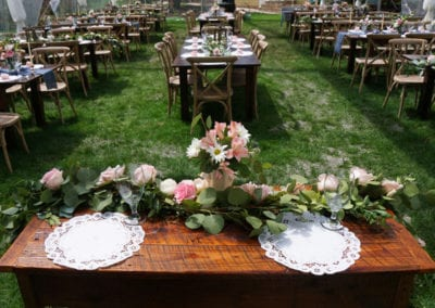 Emily's Bed and Breakfast can host your intimate outdoor wedding celebration!