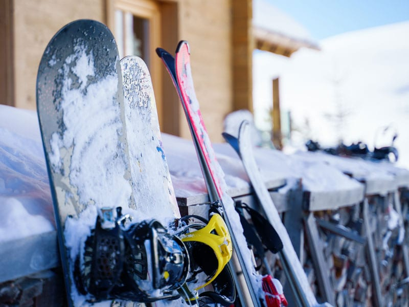 Emily's Bed and Breakfast is within an hour of many top ski resorts in Pennsylvania!