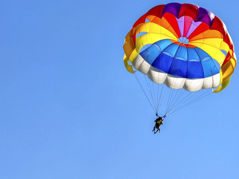 If you have ever wanted to skydive, Emily's Bed and Breakfast is less than 5 minutes away from Above the Poconos Skydivers!